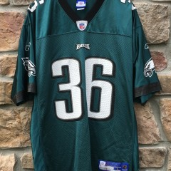 2004 Brian Westbrook Philadelphia Eagles Reebok NFL jersey size large