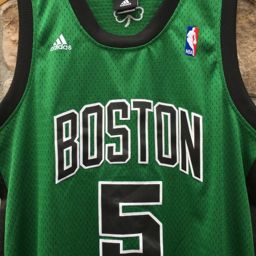 2008 Kevin Garnett Boston Celtics Adidas alternate NBA swingman jersey size medium