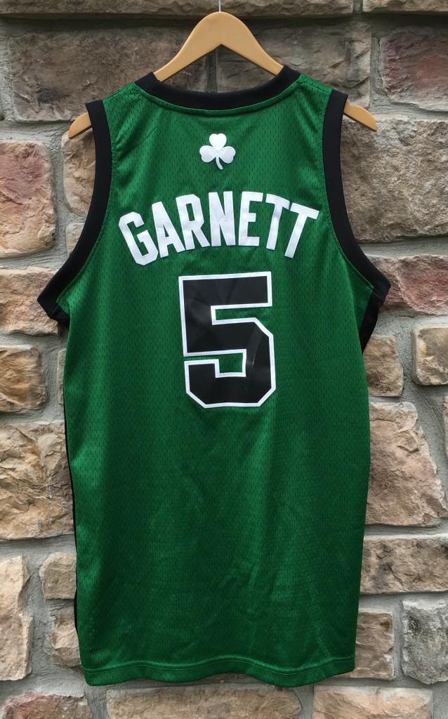 cf2613fb8 2008 Kevin Garnett Boston Celtics Adidas alternate NBA swingman jersey size  medium
