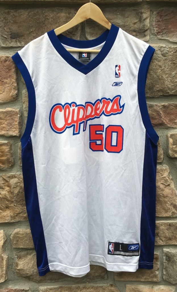 2003 Corey Maggette Los Angeles Clippers Reebok NBA Jersey