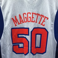 2003 Corey Maggette Los Angeles Clipper reebok nba jersey size large