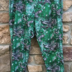 90's Philadelphia Eagles Apex One All over print kelly green pants size medium