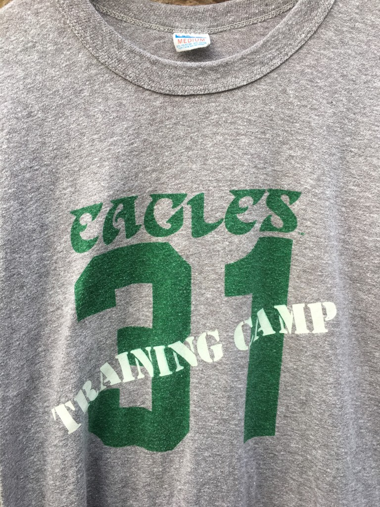 a14e5da709a ... nfl jersey women; 70s philadelphia eagles training camp 31 wilbert  montgomery champion t shirt size medium blue tag