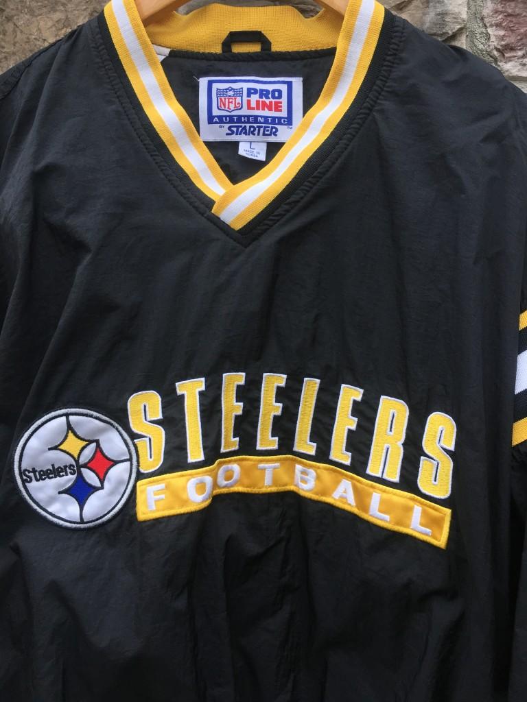 90's Pittsburgh Steelers Starter Pro Line NFL Windbreaker Jacket  supplier