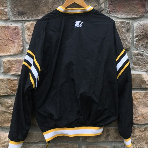 90's Pittsburgh Steelers Starter NFL windbreaker jacket size Large