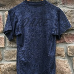 90's DARE all over print t shirt size small