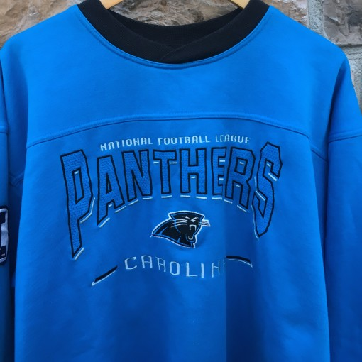 90's Carolina Panthers vintage Lee nfl crewneck sweatshirt size large powder carolina blue