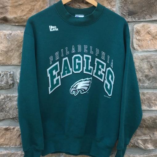 1996 Philadelphia Eagles Pro player nfl crew neck sweatshirt size medium