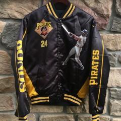 90's Pittsburgh Pirates Barry Bonds Chalkline Starline fanimation MLB jacket