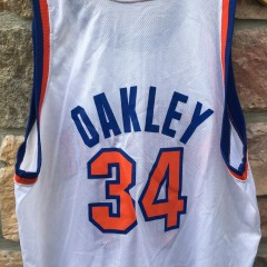 90's Charles Oakley New York Knicks Champion NBA jersey size 48