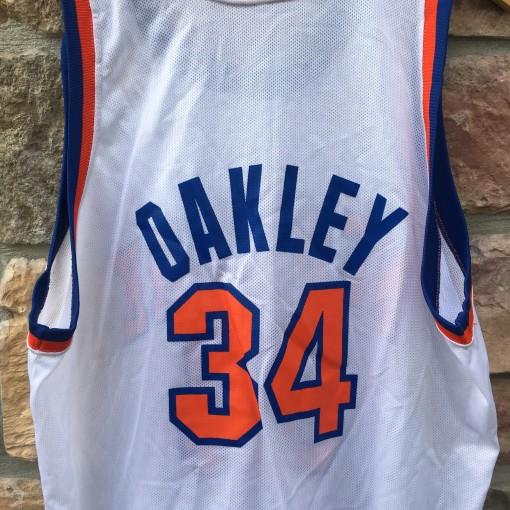 90's Charles Oakley New York Knicks Champion NBA jersey size 48