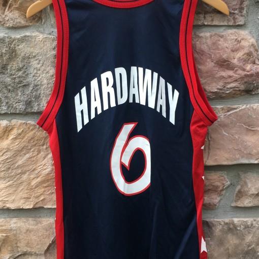 1996 Penny Hardaway Team USA Champion Basketball jersey olympics size medium