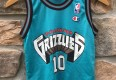 90's Mike Bibby Vancouver Grizzlies Champion NBA jersey youth size small
