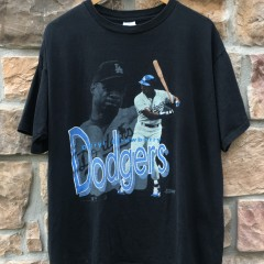 1991 Darryl Strawberry LA Dodgers Salem MLB T shirt size XL
