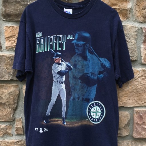 1996 Ken Griffey Jr Seattle Mariners Pro Player MLB t shirt size Large