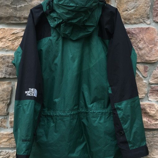 90's The North Face Gore tex mountain light parka jacket green size XL
