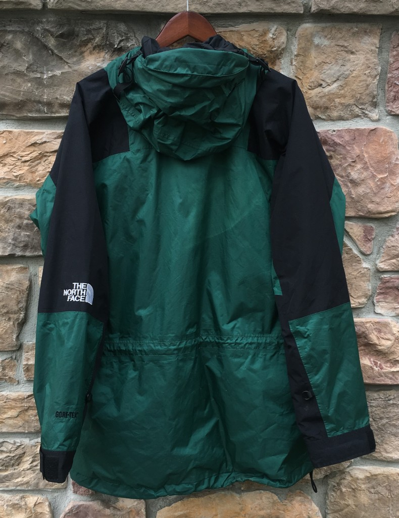 90 s The North Face Gore tex mountain light parka jacket green size XL 41a8231a0