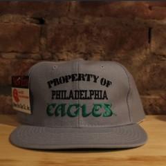 90's Property of Philadelphia Eagles deadstock New Era snapback hat NFL