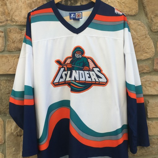 90's New York Islanders Fisherman Starter NHL Jersey size XL