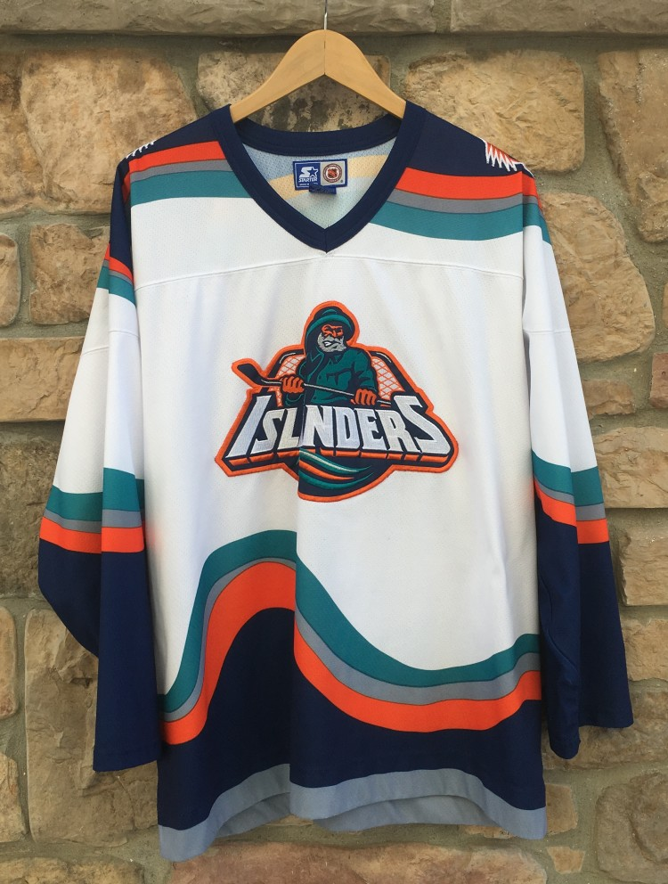 b4e83537d 1996 New York Islanders Fisherman StarterNHL Hockey Jersey Size XL ...