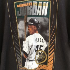 90's Michael Jordan Nike Competitive Spirit baseball shirt size XL