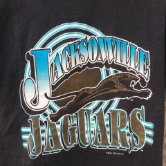 1994 Jacksonville Jaguars banned jaguar car logo nfl t shirt size medium Original