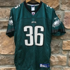 2004 Brian Westbrook Philadelphia Eagles Reebok NFL jersey youth XL
