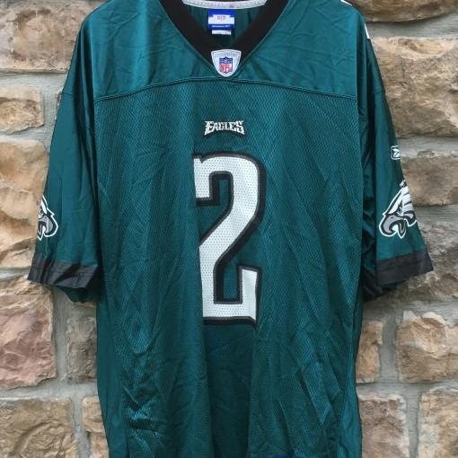 2004 David Akers Philadelphia Eagles Reebok NFL jersey size Large