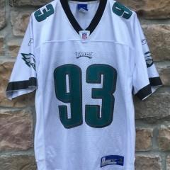 2004 Javon Kearse Philadelphia Eagles Reebok Nfl jersey size medium