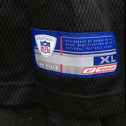 2001 Duce Staley Philadelphia Eagles Reebok NFL jersey size XL black alternate