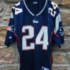 2000 Ty Law New England Patriots Champion NFL jersey size 40 medium
