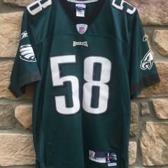 vintage Trent Cole Philadelphia Eagles Reebok NFL jersey size small