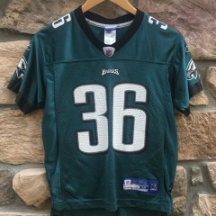 2005 Brian Westbrook Philadelphia Eagles NFL jersey youth size medium