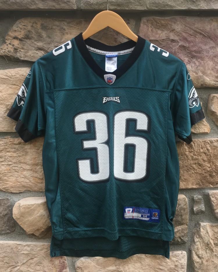 2005 Brian Westbrook Philadelphia Eagles NFL jersey youth size medium bf846c2ea