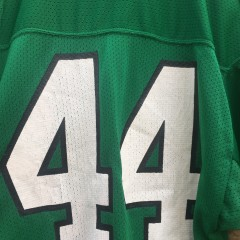 80's Philadelphia Eagles Kelly Green Russell #44 Pete Retzlaff NFL jersey size large