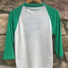 80's Philadelphia Eagles Kelly Green vintage raglan shirt