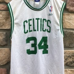 vintage Paul Pierce Boston Celtics Reebok NBA jersey size medium