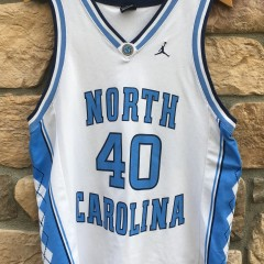 vintage Harrison Barnes UNC North Carolina Tarheels Jordan Nike Basetball jersey medium