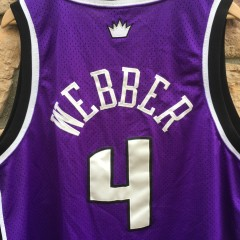 vintage Chris Webber Sacramento Kings Nike swingman NBA jersey size XL