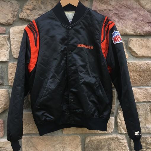 90's Cincinnati Bengals Starter Satin NFL bomber jacket size large