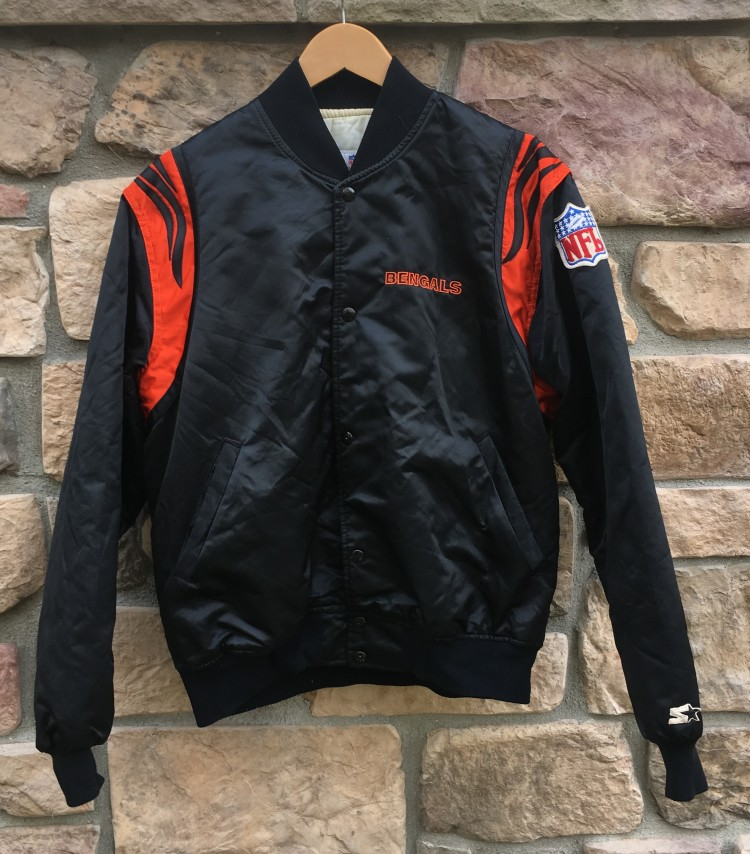 reputable site 5c444 09291 90's Cincinnati Bengals Starter NFL Satin Jacket Size XL