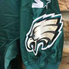 90's Doug Pederson Philadelphia Eagles Authentic vintage Starter Pro Line NFL jersey size 48 large