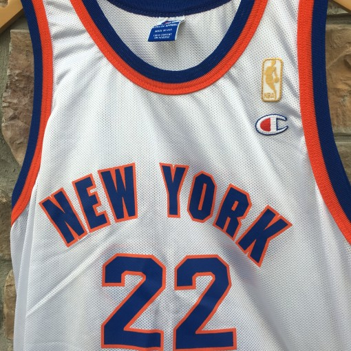 1997 Dave Debusschere New York Knicks 50th anniversary NBA Champion jersey size 44 large