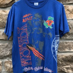 1991 Florida Gators NCAA Salem sportswear Ariel Assault  shirt size medium