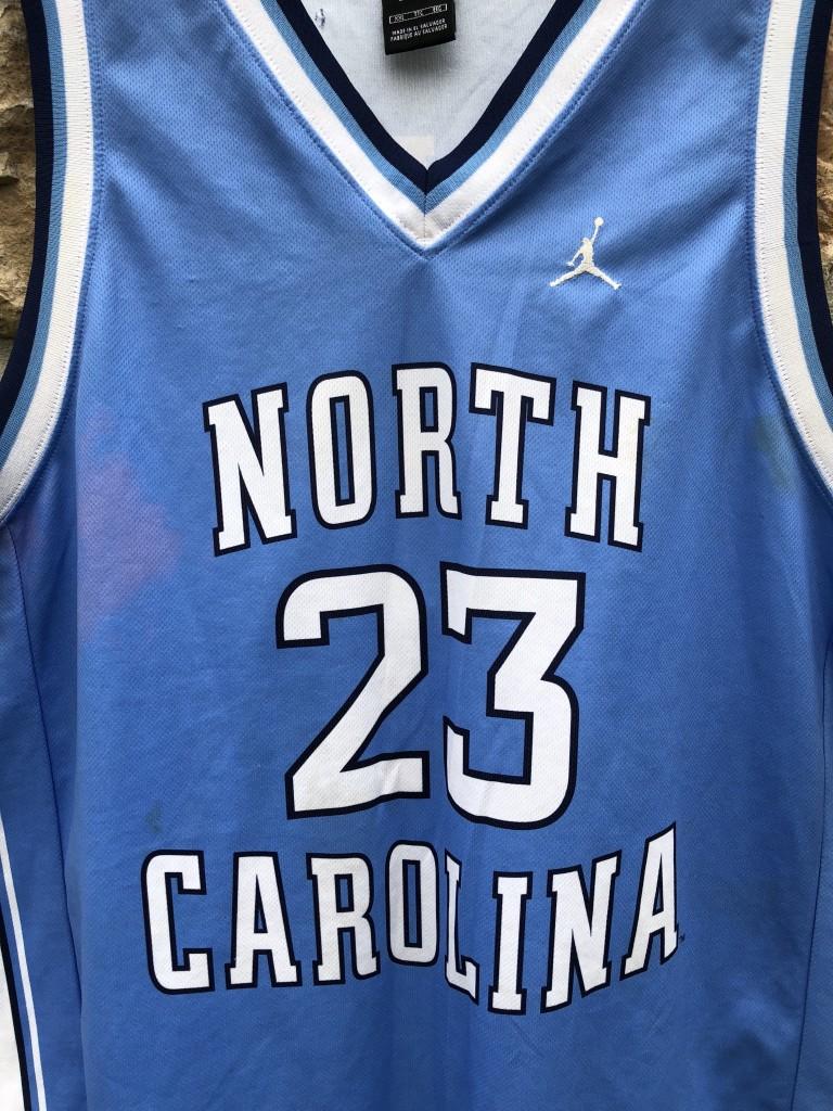 2773025eacd 00's Retro Vintage North Carolina Tarheels Michael Jordan NCAA jersey size  52 XXL