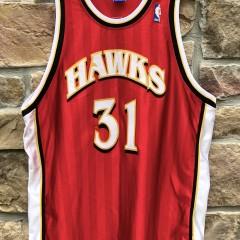 vintage Jason Terry Atlanta Hawks Champion Authentic NBA jersey size 52 XXL