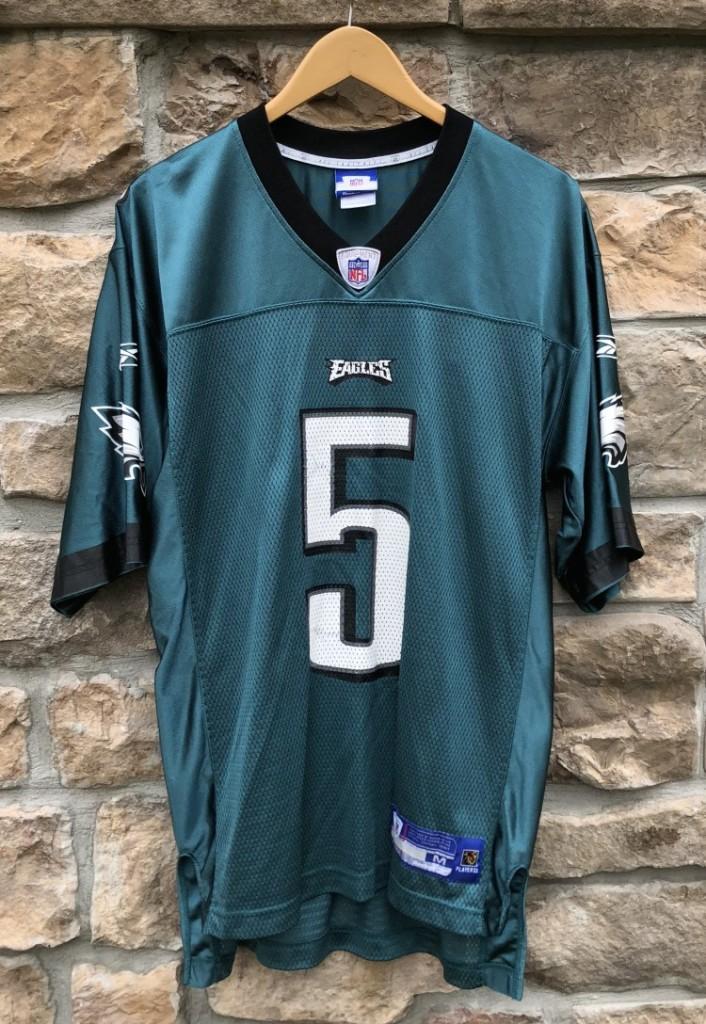 78da5dd79de 2004 Donovan McNabb Philadelphia eagles vintage Reebok NFL jersey size  medium
