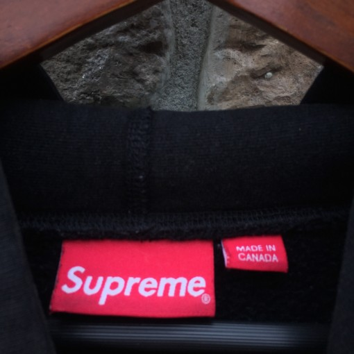 2016 Supreme New York Pure Fear Hoodie Size XL Black