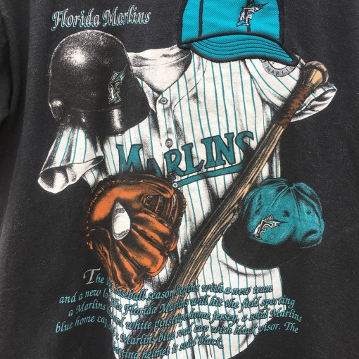 1992 Florida Marlins Nutmeg MLB T shirt size medium