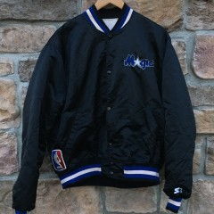 early 90's Orlando Magic Starter Satin NBA jacket size XL